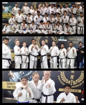 Karate Seminar with Sensei Ken Bokelius from Sweden